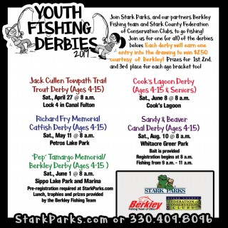 youth fishing dates