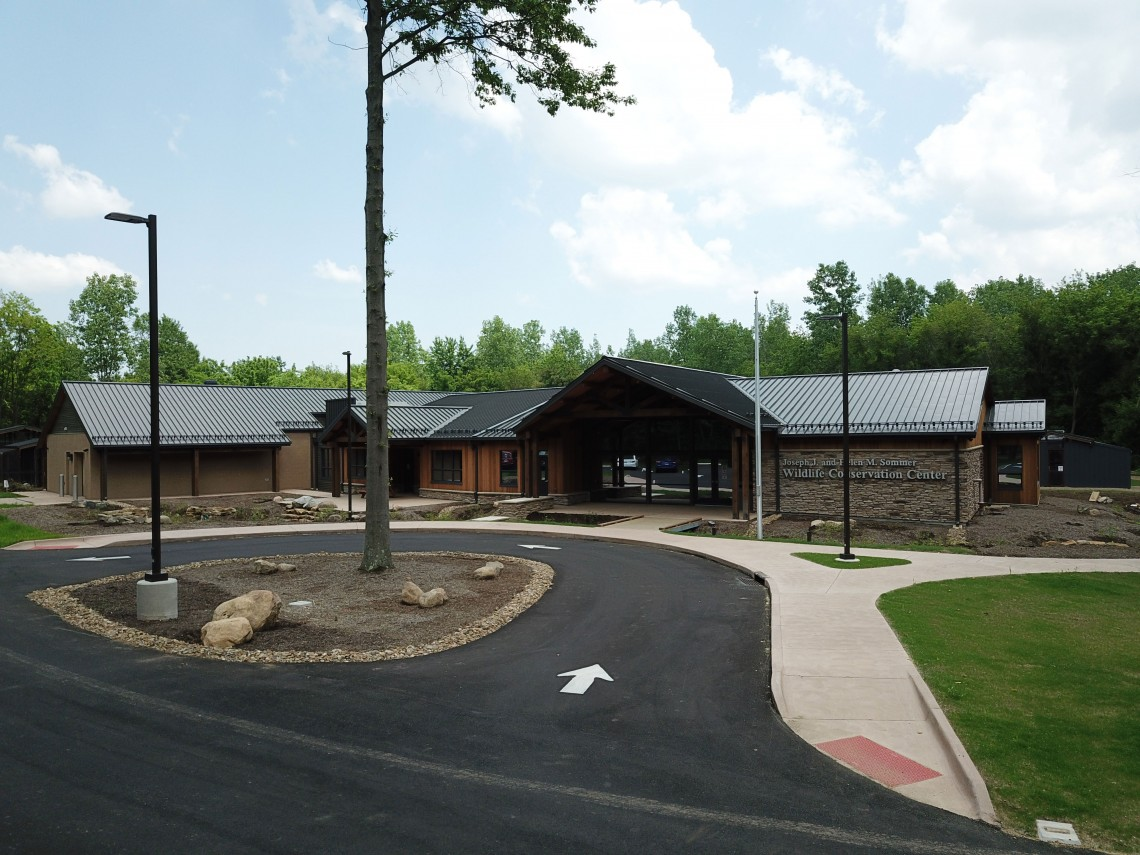 Front view of Wildlife Conservation Center