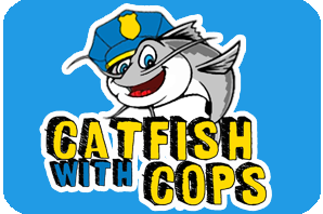 Catfish graphic with hat