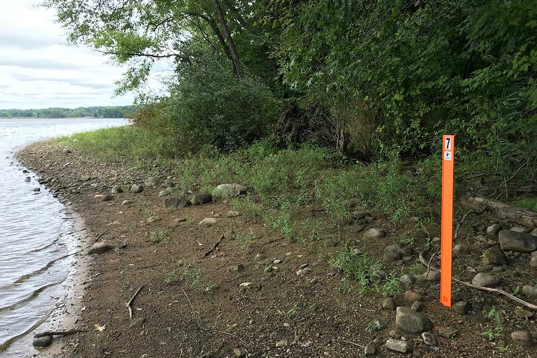 Bright Orange zone marker