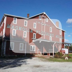 Front View of Magnolia Mill
