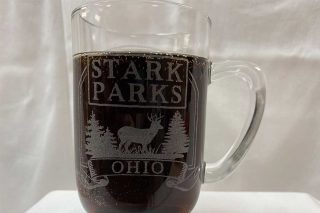 Coffee Mug with Stark Parks Ohio etched on front