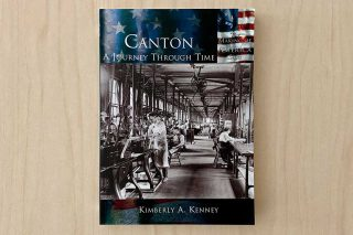 Workers in Factory on Book Cover