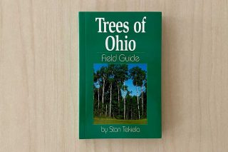Trees of Ohio with Tree picture on book cover