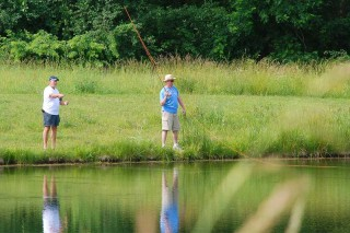 Fly Fishing at Devonshire Park