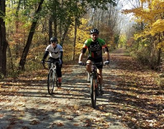 Biking the Sandy Valley Trail
