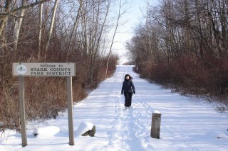 Nickel Plate Trail in Winter